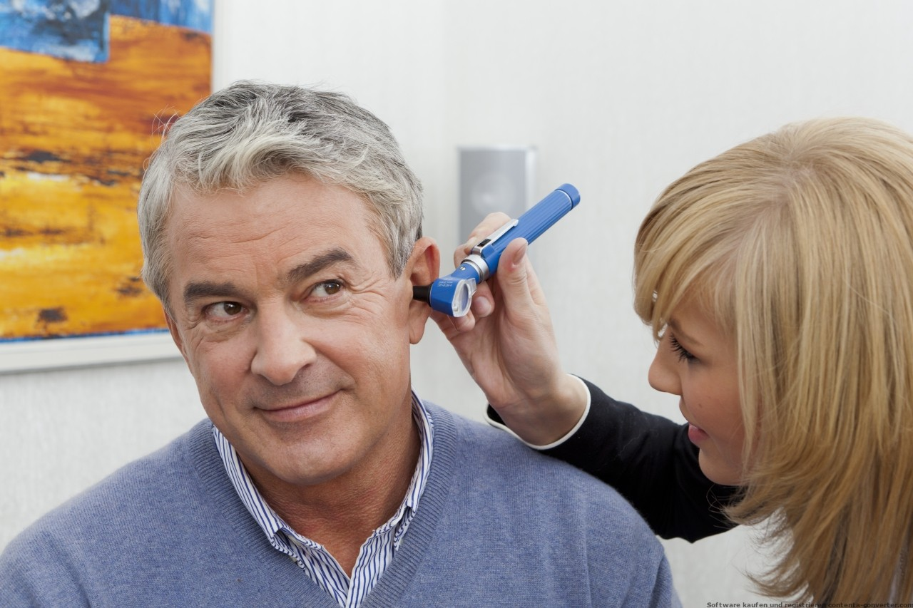 der Blick ins Ohr - Otoskopie
