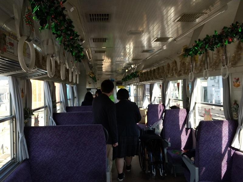 クリスマス列車AR301号