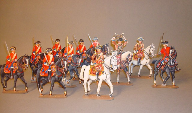 Schachtel 091 - Bild 1 - England Life Guards Kavallerie