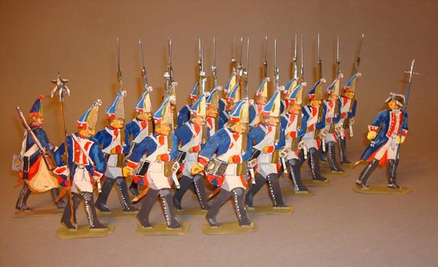 Preußen Grenadiere Infanterie-Regiment von Borcke Nr. 2