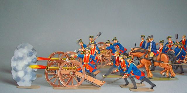Schachtel 038 - Bild 1 - England Royal Artillerie