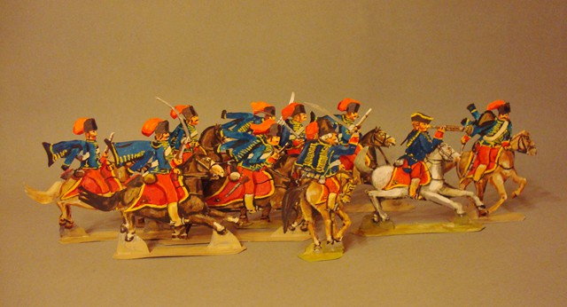 Schachtel 196 - Bild 2  - Österreich Husaren-Regiment Kalnoky