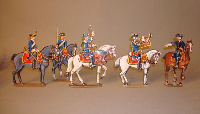 Schachtel 091 - Bild 2 - England Oxford Blues Kavallerie