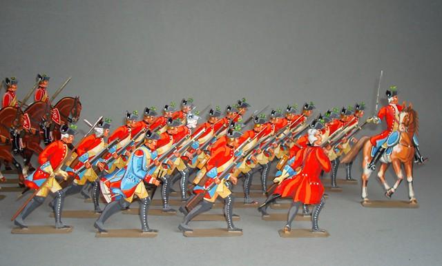 Schachtel 132 - Hannover Herzog Ferdinand Legion britannique 4. Btl. de Laue