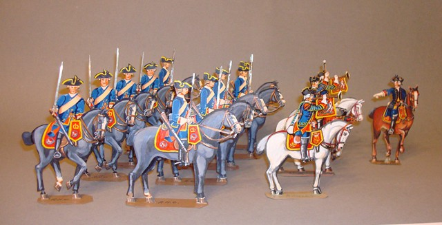 Schachtel 091 - Bild 1 - England Oxford Blues Kavallerie