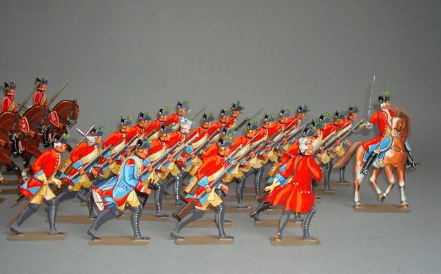 Schachtel 132 - Bild 2  - Hannover Herzog Ferdinand Legion britannique 4. Btl. de Laue