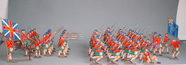 England Schotten Infanterie-Regiment Nr. Nr. 42