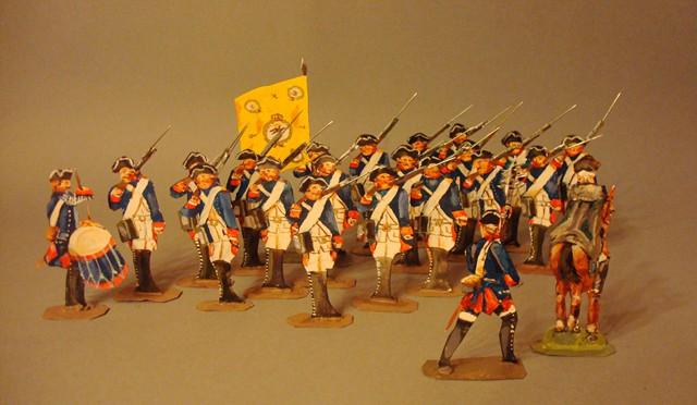 Schachtel 184 - Bild 1  - Preußen Infanterie-Regiment Nr. 3