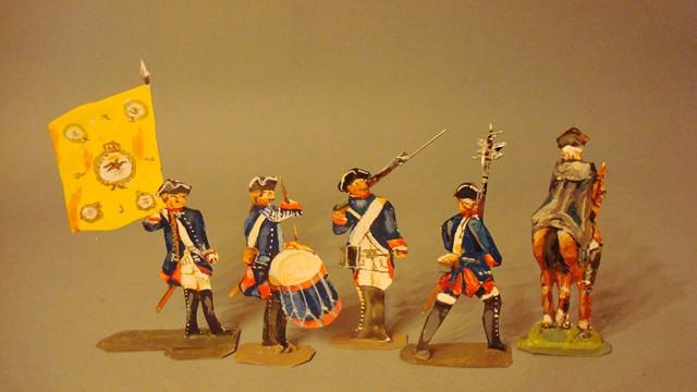 Schachtel 184 - Bild 2  - Preußen Infanterie-Regiment Nr. 3