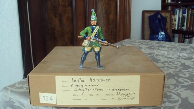 Schachtel 134 - Hannover Scheither Korps