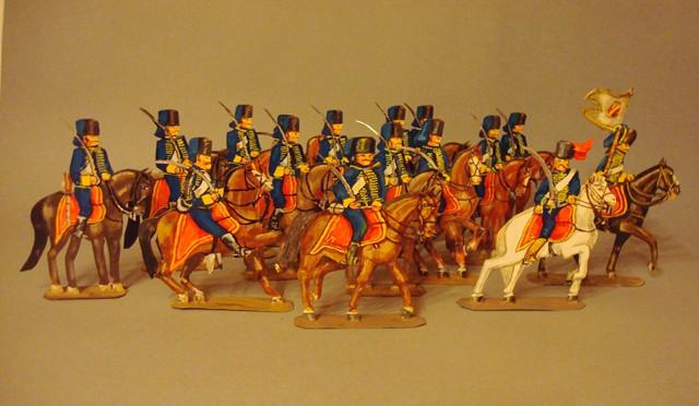 Schachtel 195 - Bild 1  - Österreich Husaren-Regiment Kaiser