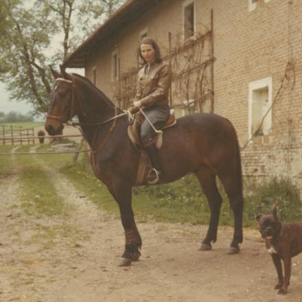 Irmgard Siegl - Ulrikes Tante - in jungen Jahren