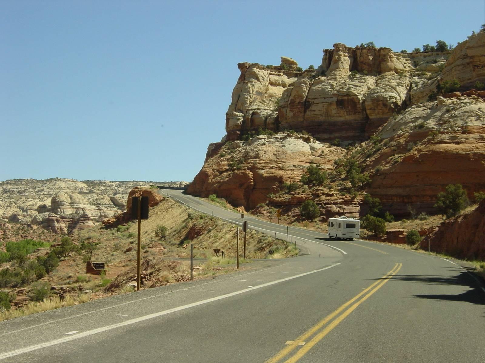 auf der SR-12 Richtung Boulder