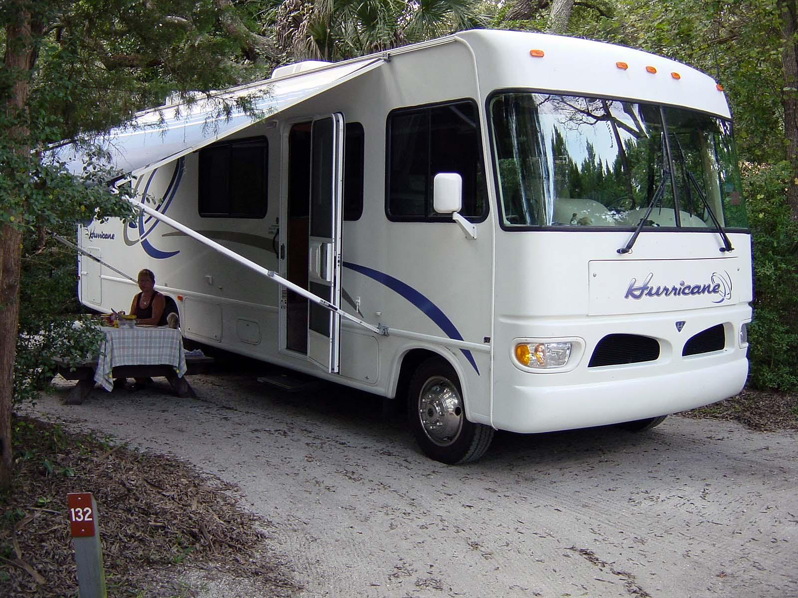 Campground, Anastasia State Park