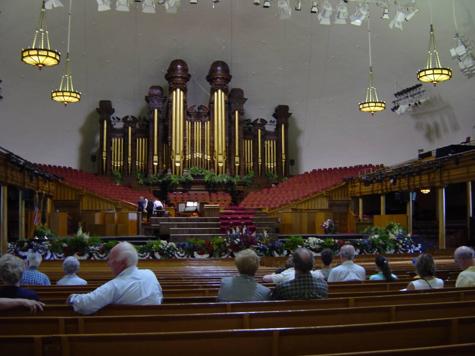 Tabernacle, Orgelkonzert