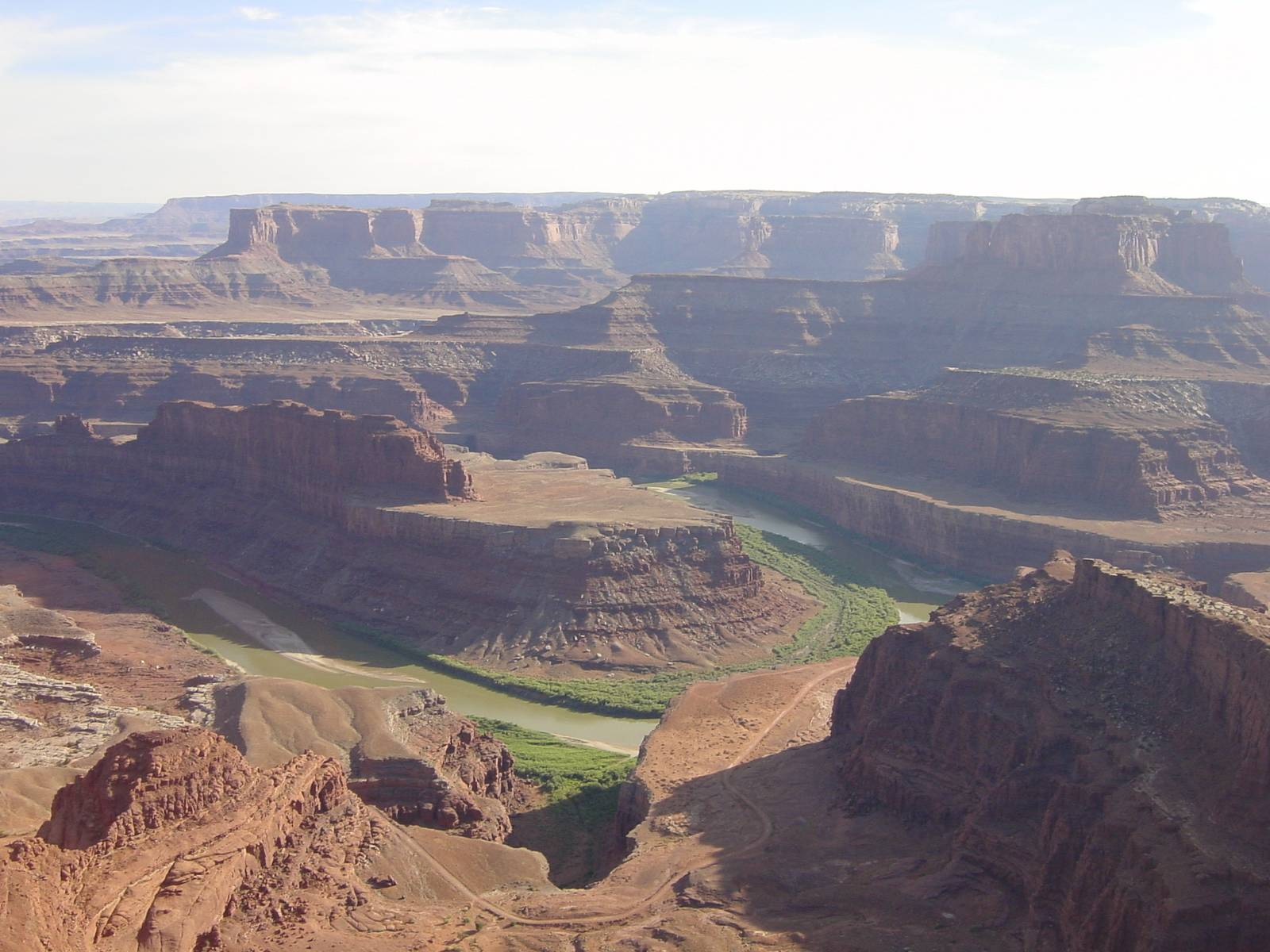 Dead Horse Point State Park, Aussicht auf den Colorado River