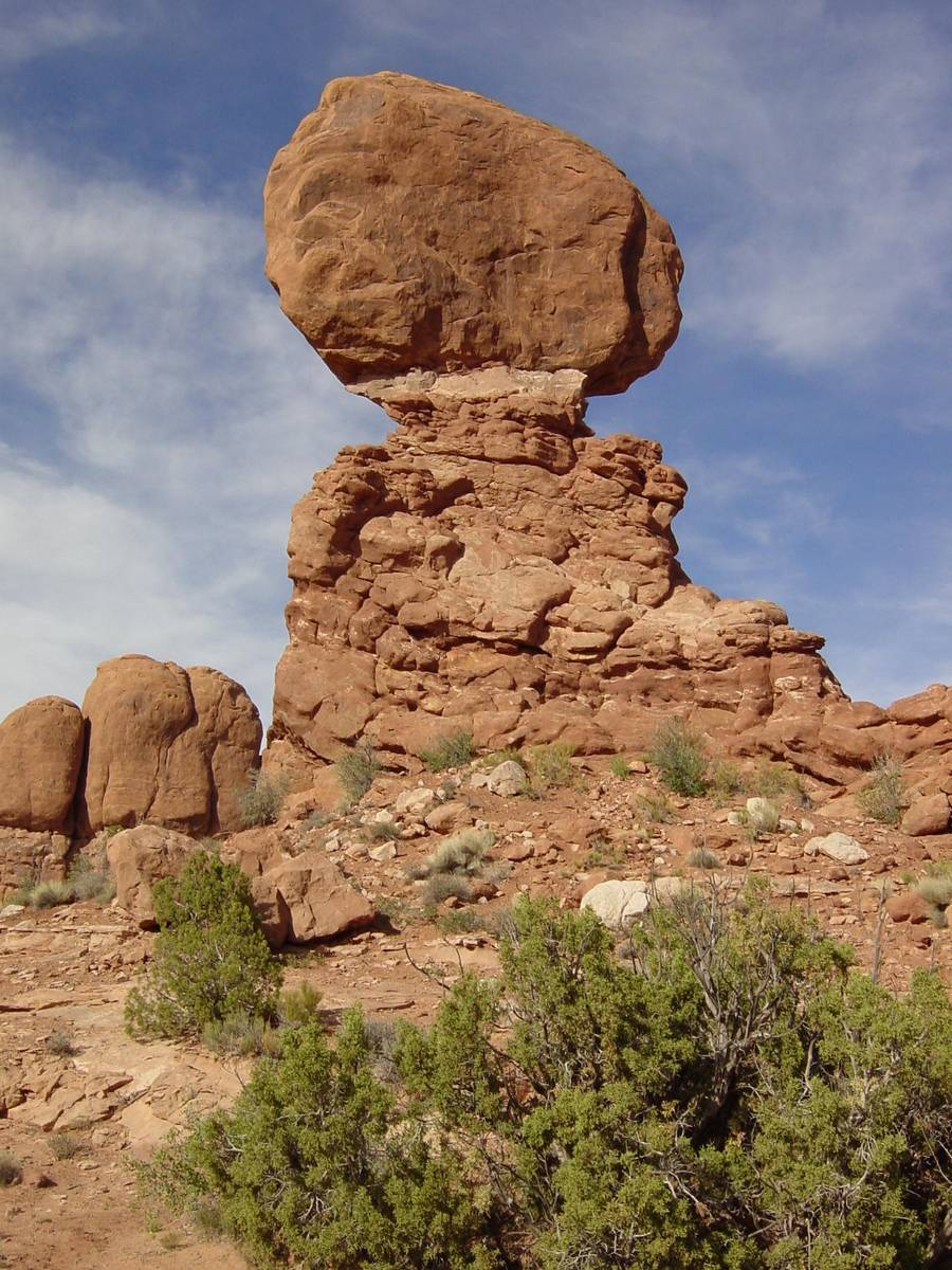 Balanced Rock, Arches Nationalpark