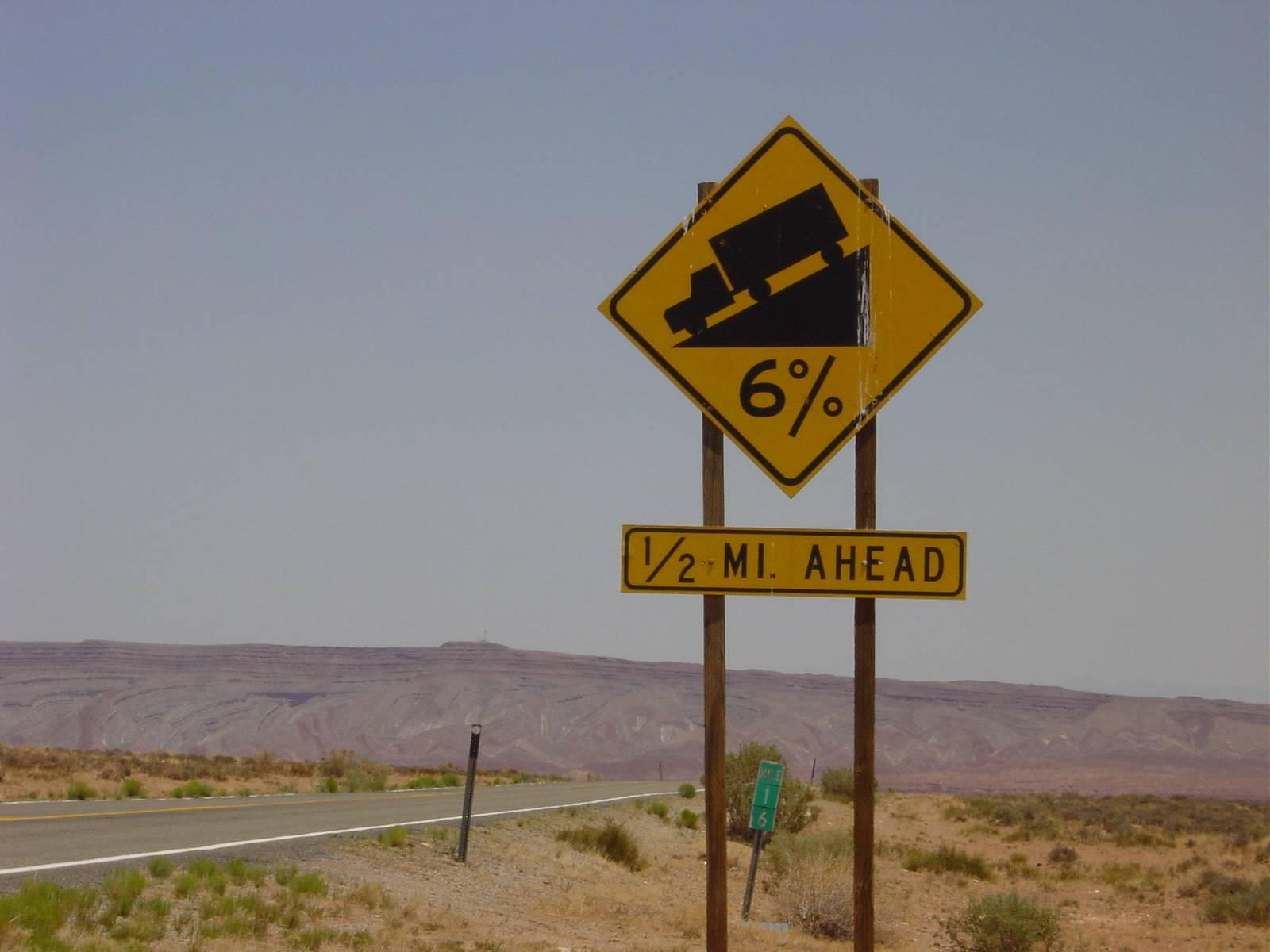 auf dem Weg zum Monoment Valley