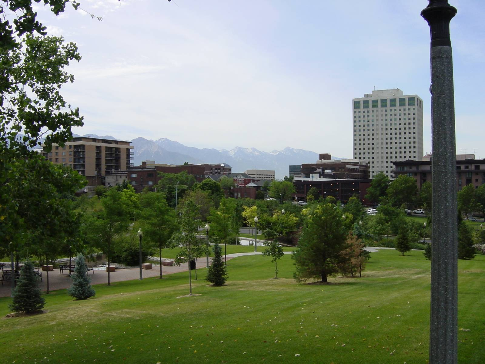 City Creek Park, Salt Lake City