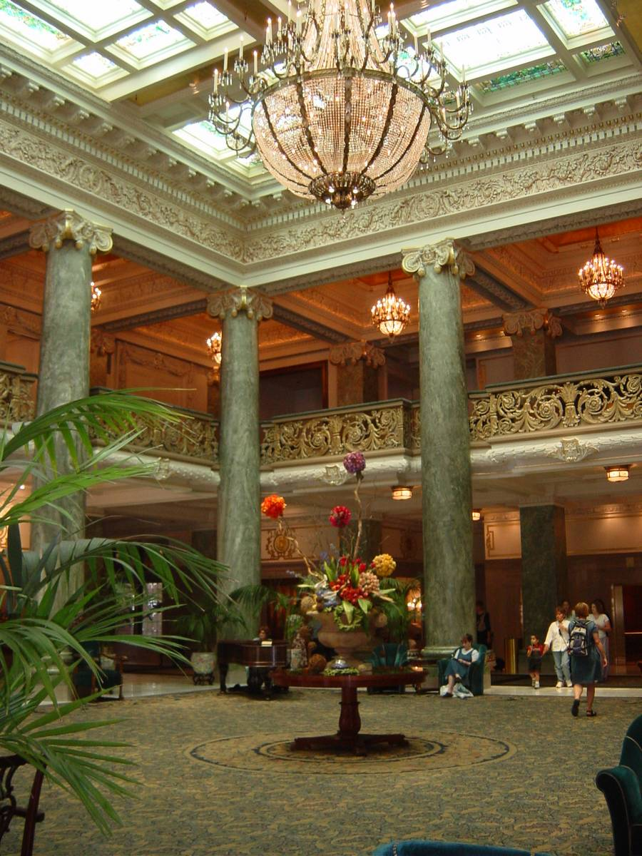 Main lobby of Joseph Smith Building