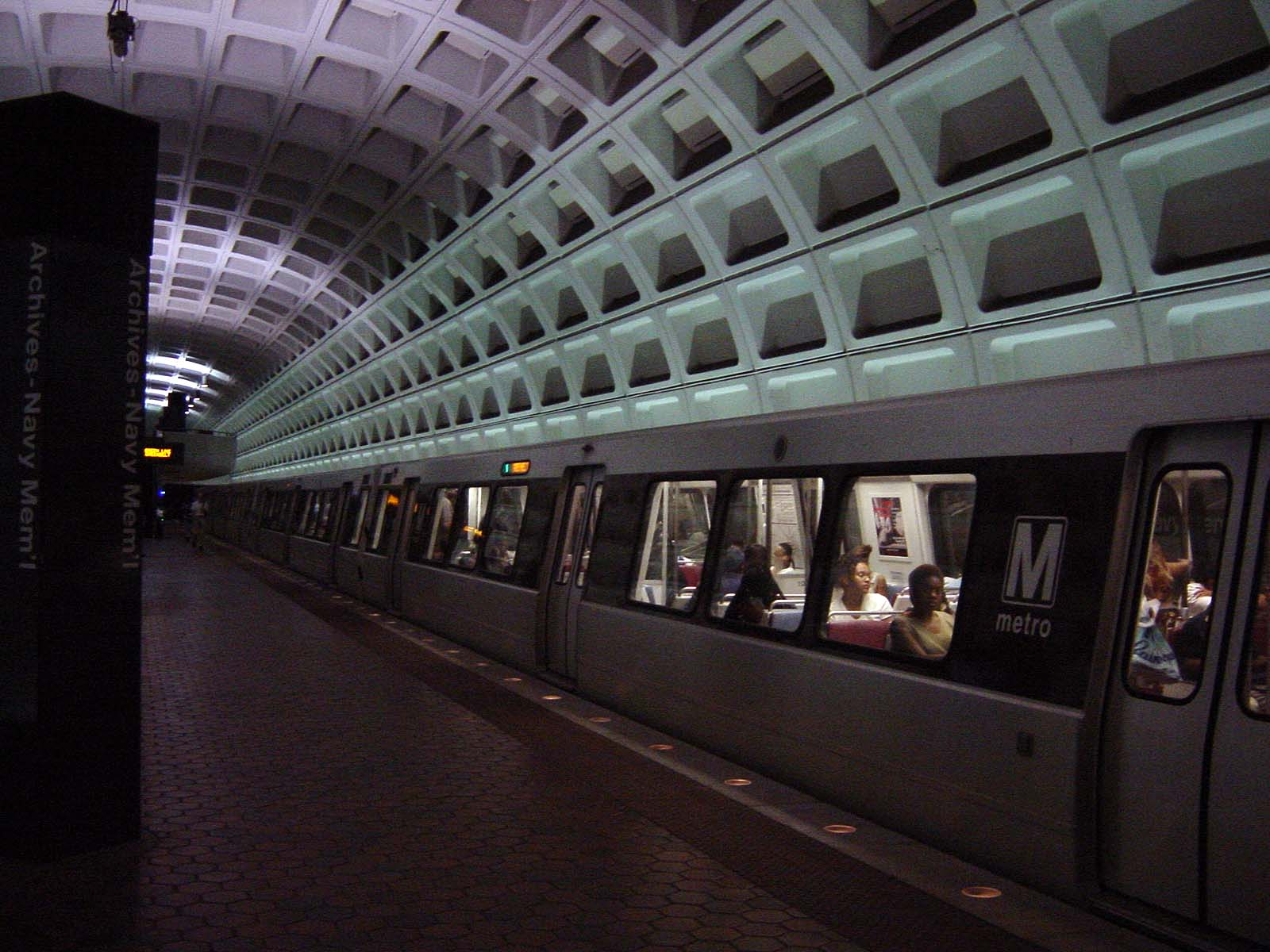 Mit der Metro nach Washington D.C.