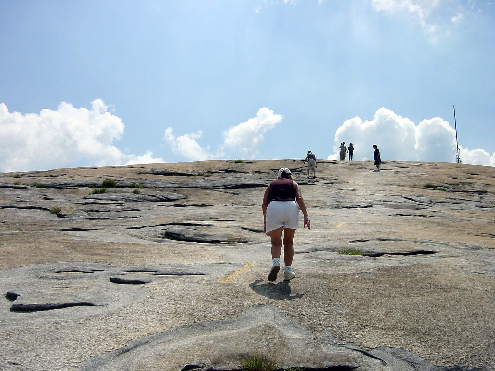 Walk-Up Trail to Top of Stone Mountain