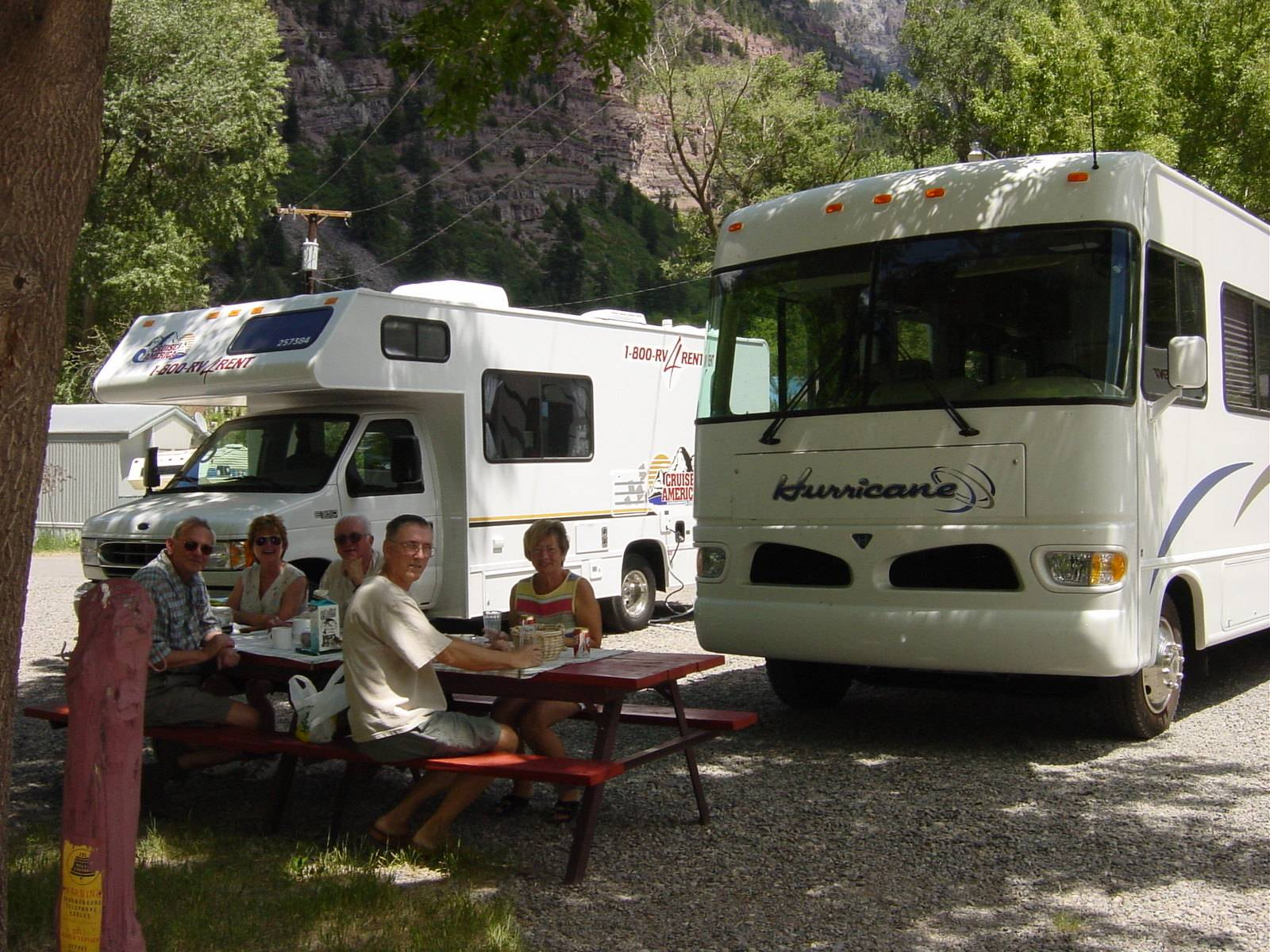 Four J Plus One Plus One Campground, Ouray