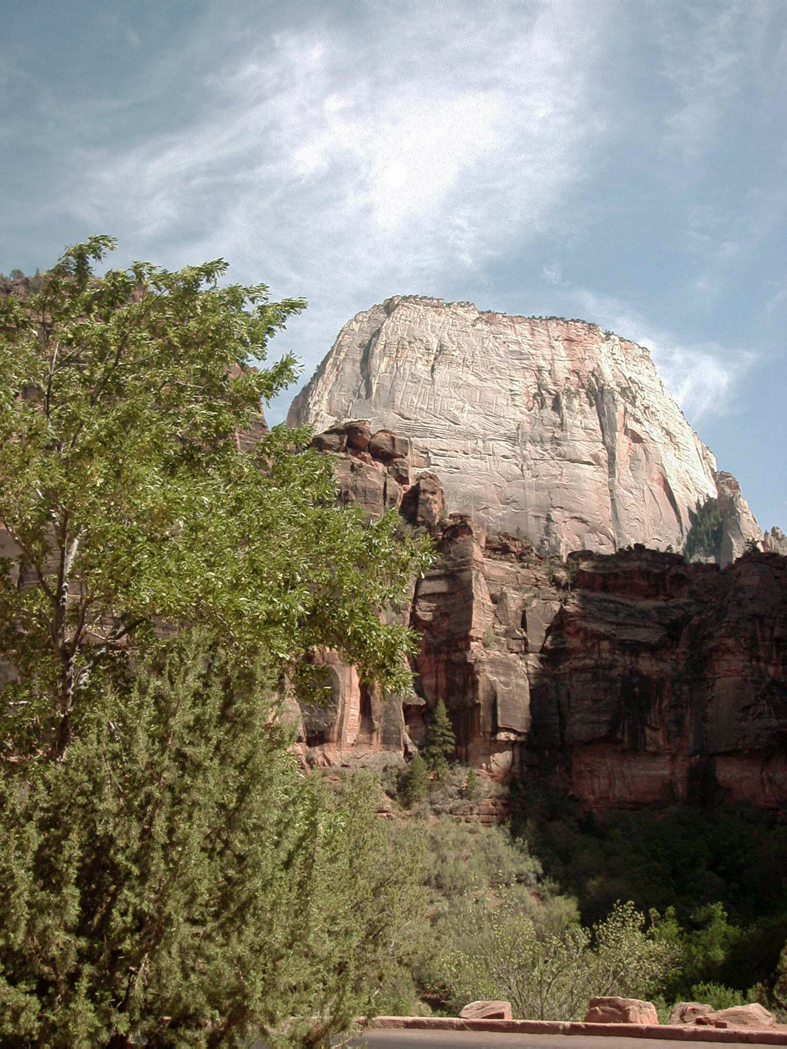 The Great White Throne, Zion NP