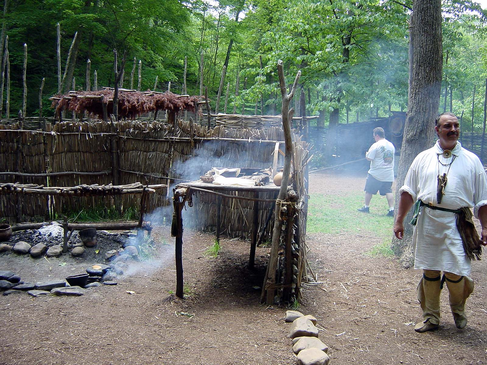 Monacan Indian Village
