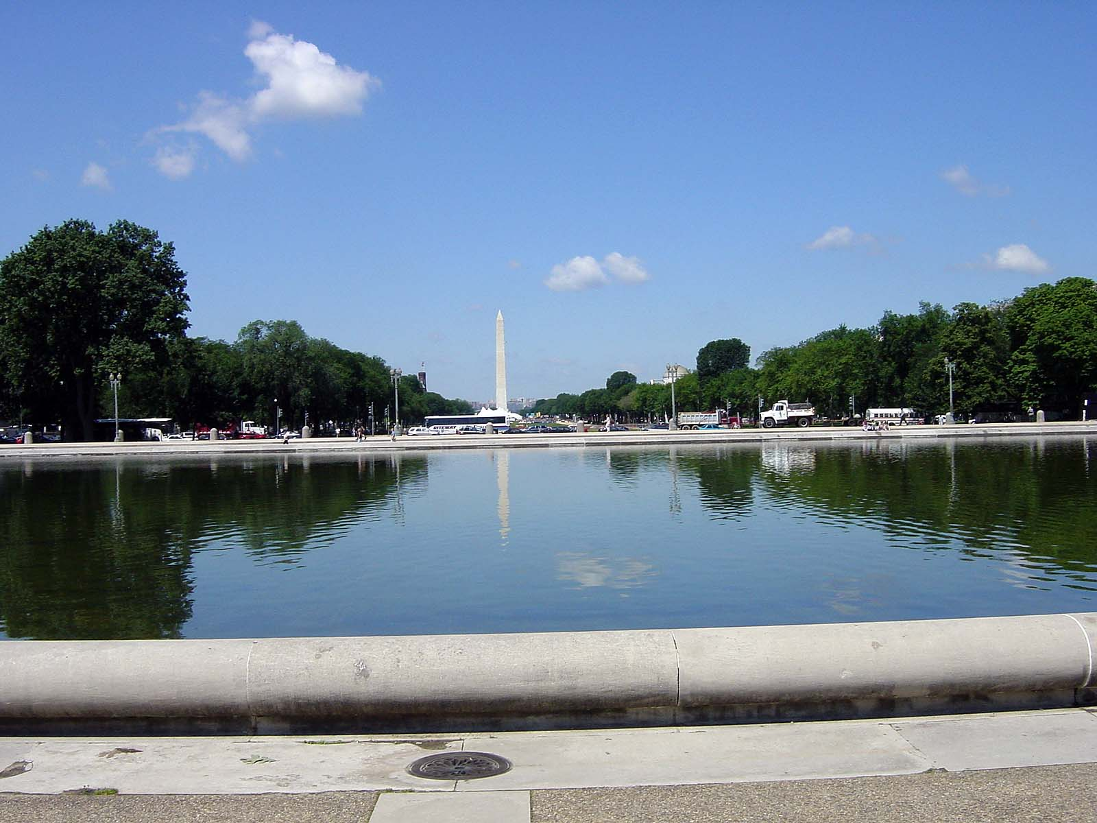 Capitol Reflecting Pool/National Mall/Washington Monument