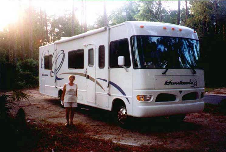 Im Campground des Stephen Foster State Park bei White Springs