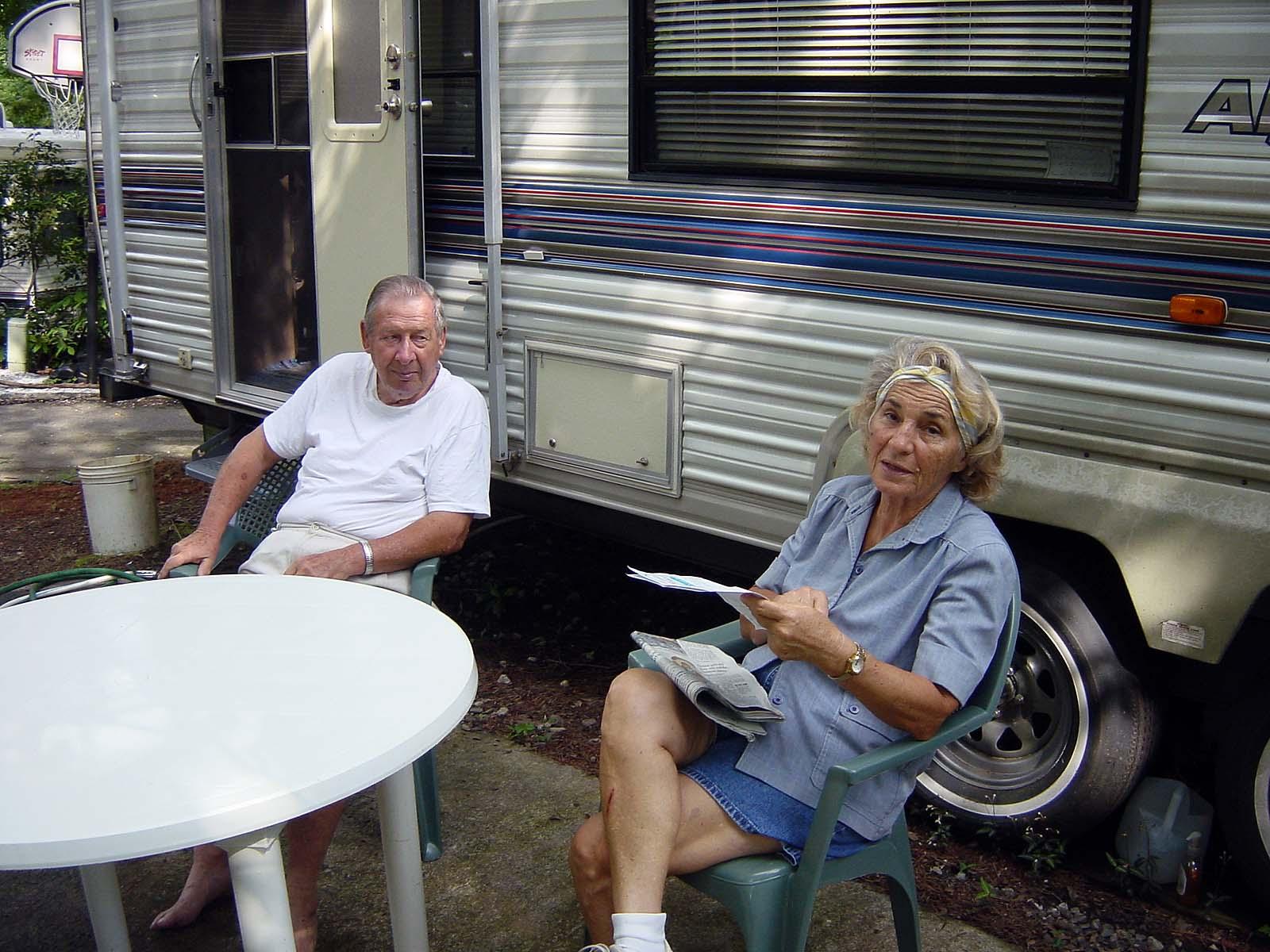 Mountain Lakes - unsere Freunde Ludmilla und Gene aus Sarasota