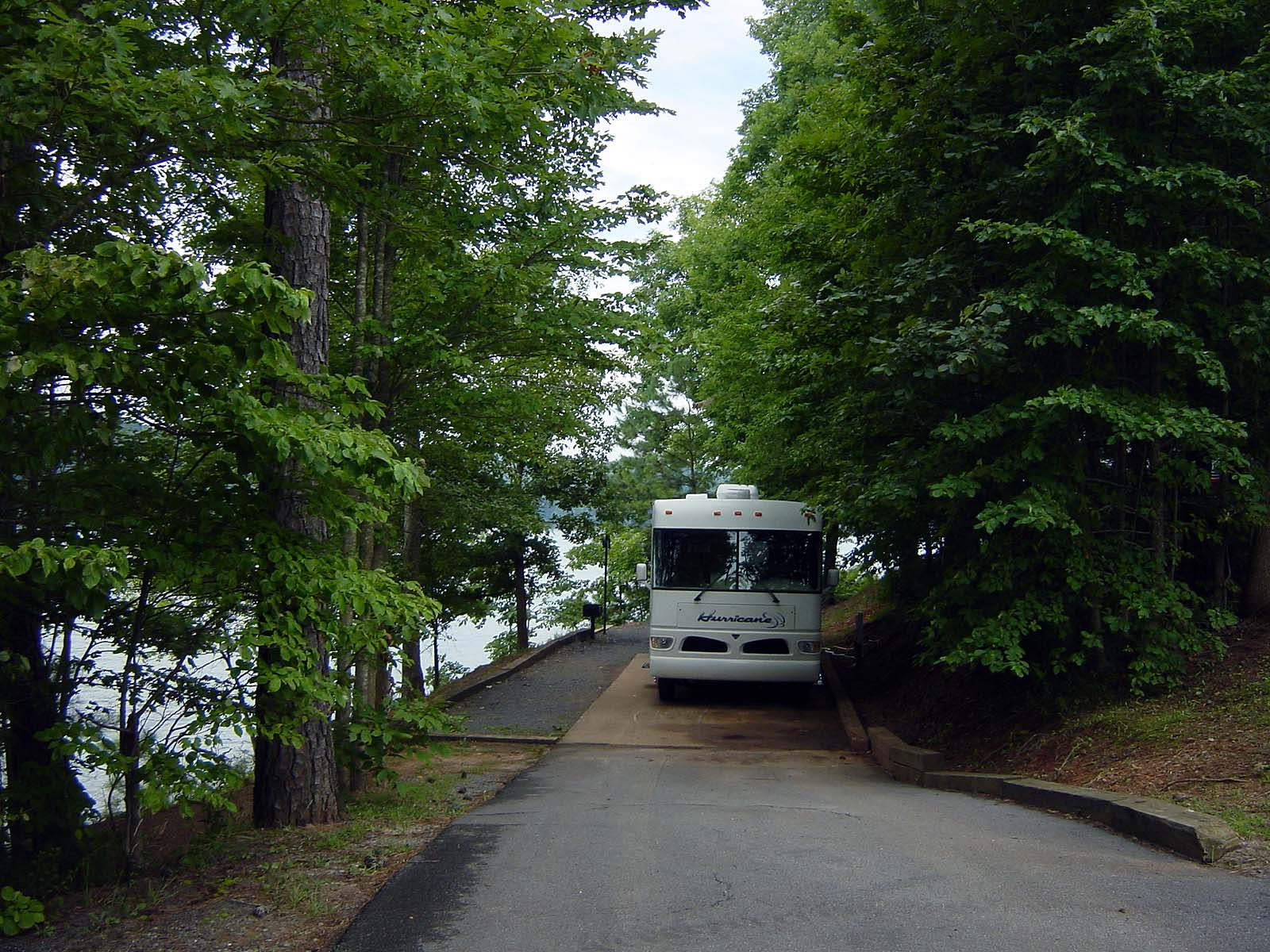 Woodring Branch Campground am Carters Lake