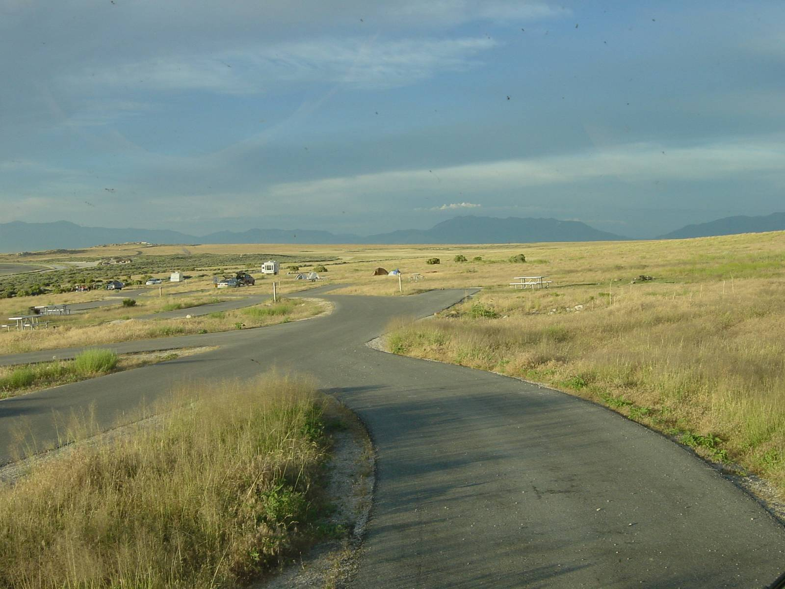 Antelope Island, Bridger Campground