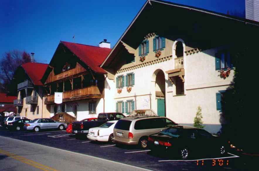 Häuser im Alpenstil
