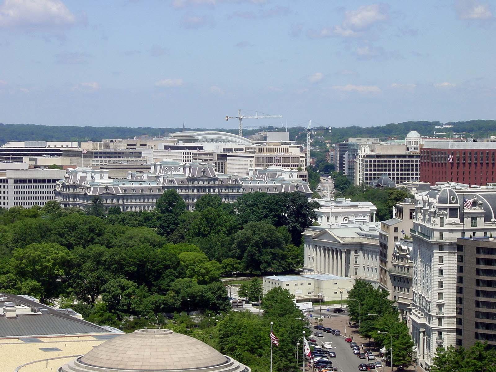 Blick zum White House