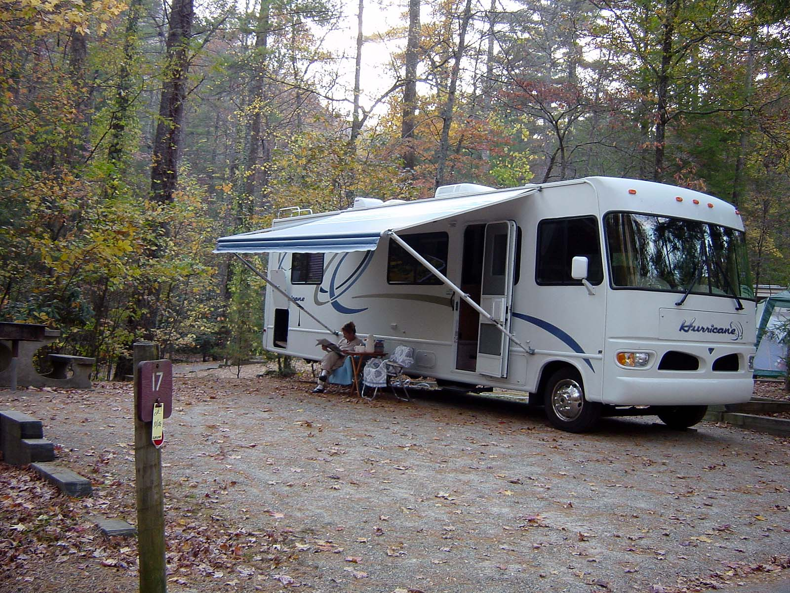 Campground im Vogel State Park