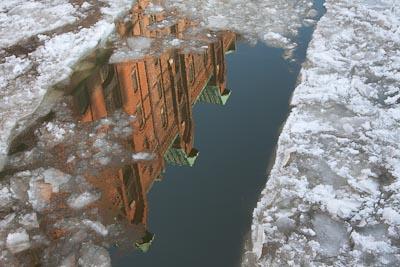 Lücke im Eis