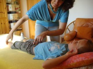 Kinesiologischer Muskelfunktionstest bei Eveline Schwabl