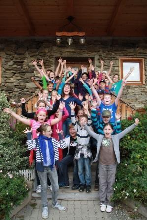 Ausflug mit Roswitha Hafen und Kinder, die im Training sind, finanziert vom Land Steiermark