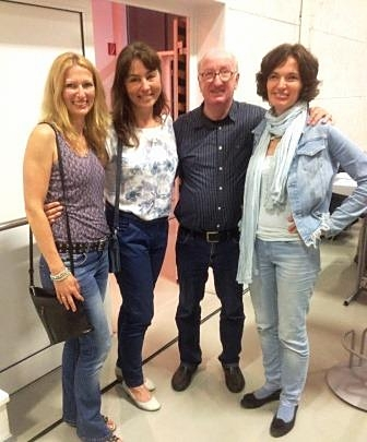 31.05.2017: gemeinsamer Besuch beim Vortrag von Jan - Uwe Rogge in der Kirschenhalle in Hitzendorf