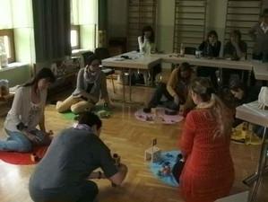 Ausbildung zum Enten- und Zahlenland 1 im Kindergarten Mooskirchen, organisiert von Roswitha Hafen.