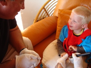 Bioresonanz für Kinder gemeinsam mit den Eltern bei Eveline Schwabl
