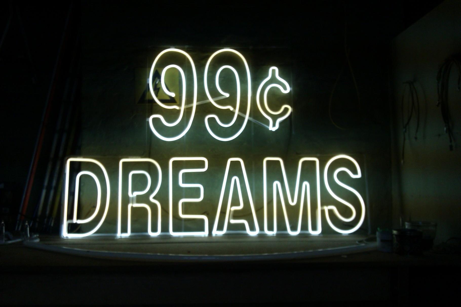 """99c Dreams"" // Neon Joecks Berlin"