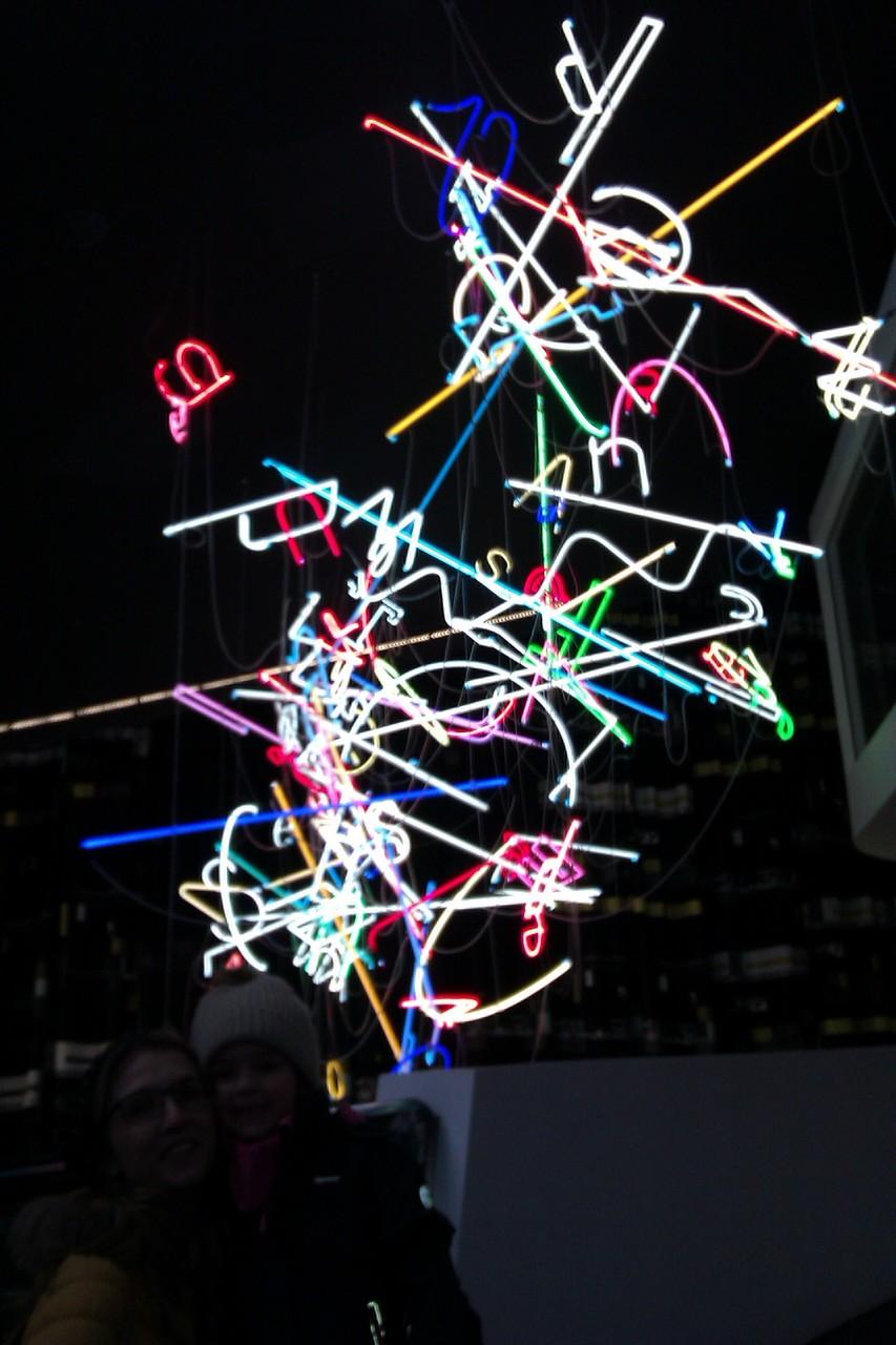 Neonkunst  Anselm Reyle // Neon Joecks Berlin
