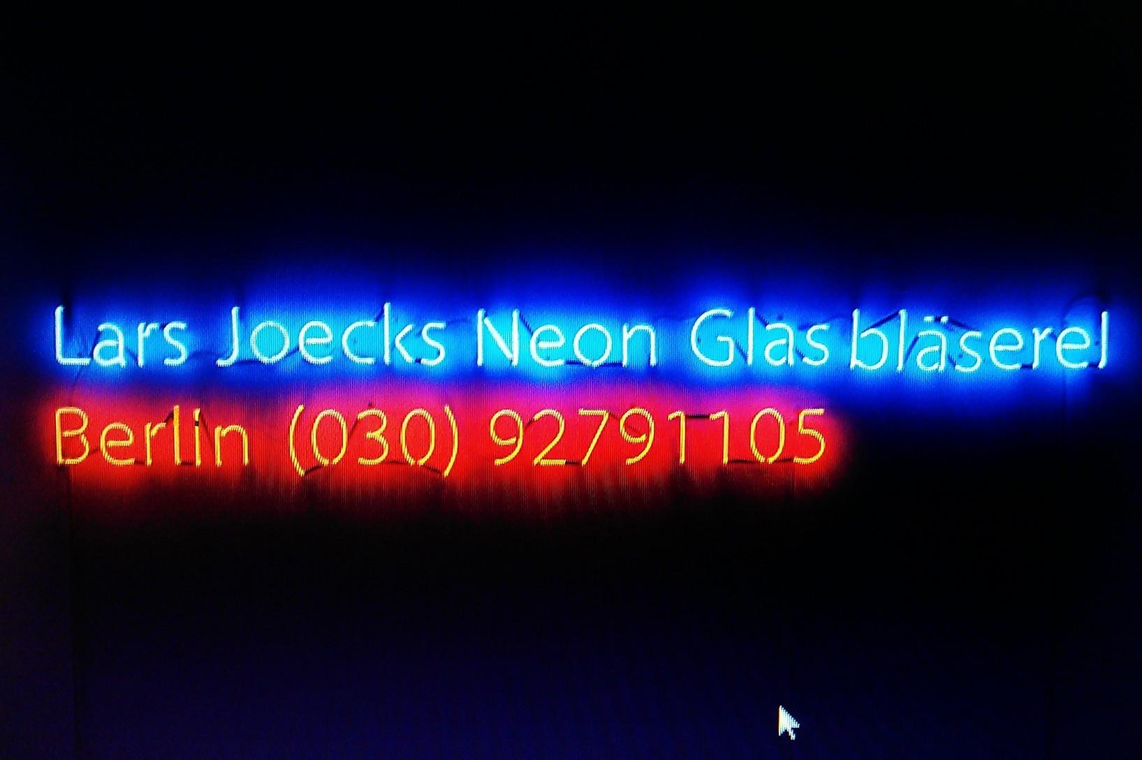 Berlin Neonbuchstaben // Neon Joecks Berlin
