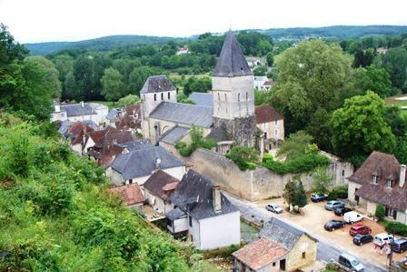 Vue du Village de Tourtoirac