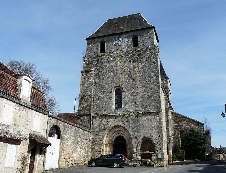 Entrée de l'Abbaye de Tourtoirac