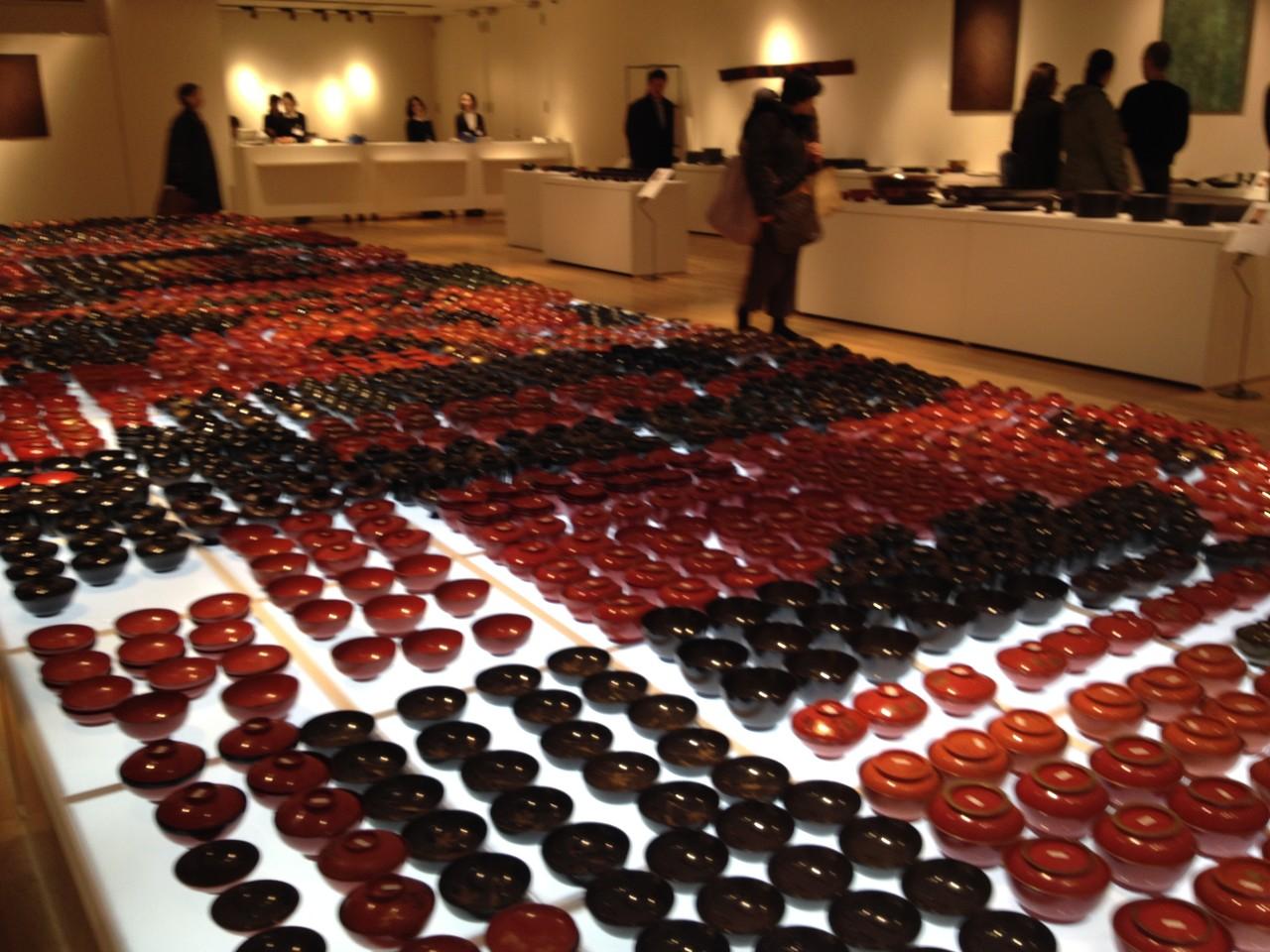 赤木コレクション「忘れられた椀」:時代椀7000個。