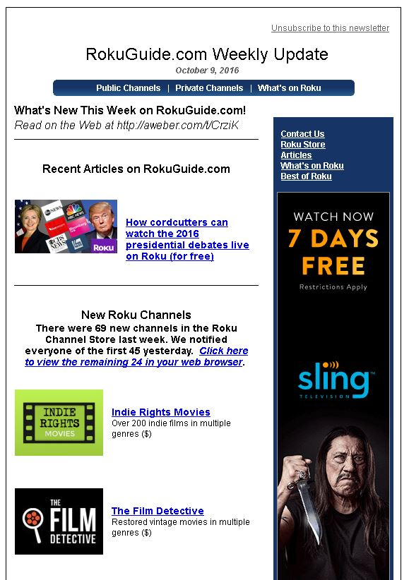Indie Rights ROKU now available! - Indie Rights Movie & TV